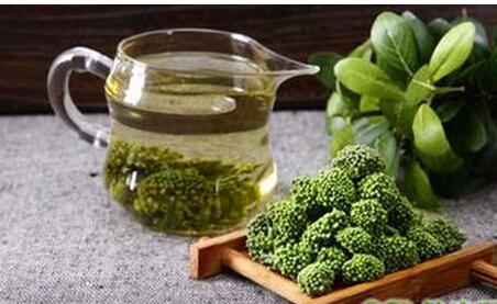 三七花中放入普洱茶对脂肪产生分