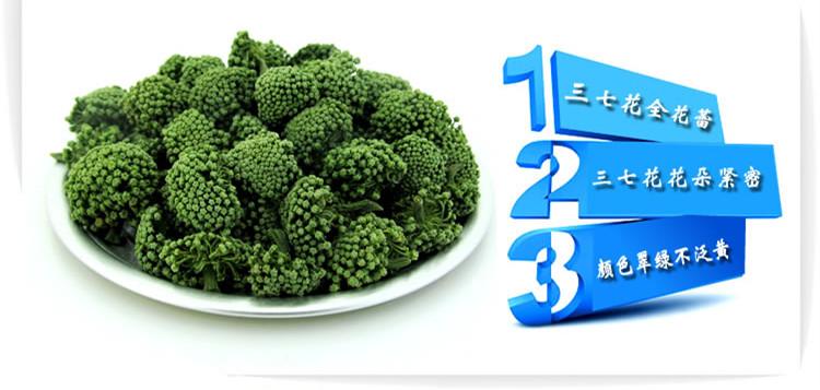 三七花蕾与三七的皂苷作用