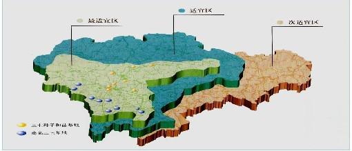 三七种植适应区的划分图片
