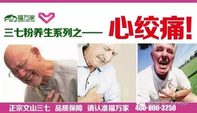 三七粉养生功效系列之——心绞痛